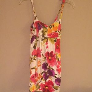 Floral sun dress size small